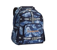 Small Backpack, Mackenzie Navy Shark Camo