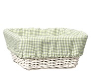 Medium Gingham Liner, Green