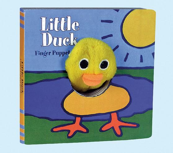 Little Duck<br> Finger Puppet Book