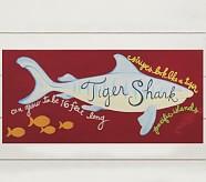 Tiger Shark Surf Plaque