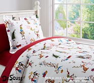 Dr. Seuss's The Grinch™ Flannel Duvet Cover, Twin