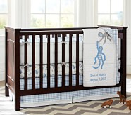 Daniel Nursery Quilt Bedding Set: Toddler Quilt, Crib Skirt & Crib Fitted Sheet