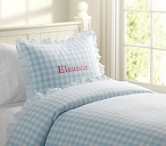 Eleanor Duvet Cover, Twin, Blue