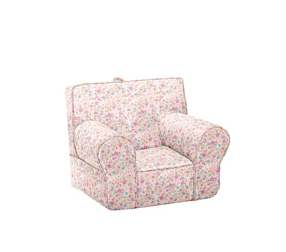 Anywhere Chair® Slipcover, Pink Floral