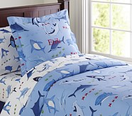 Shark Duvet Cover, Full/Queen