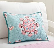 Brooklyn Small Quilted Sham, Pink