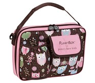 Chocolate Owl Planet Lunch Box