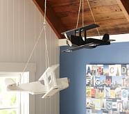 White Hanging Wood Plane