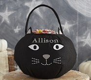 Black Cat Treat Bag