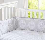 Organic Genevieve Crib Fitted Sheet