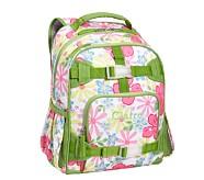 Mackenzie Pink Hibiscus Small Backpack