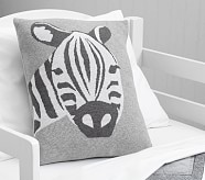 Levi Nursery Zebra Knit Small Sham