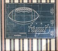 Sports Blueprint Art, Football