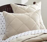 Cozy Plush Standard Sham, Khaki