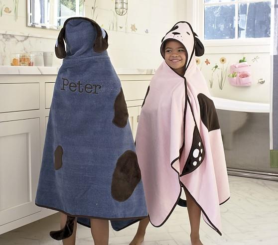 Dog Bath Wrap, Blue