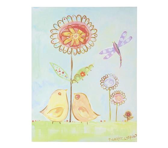Lovebirds Art