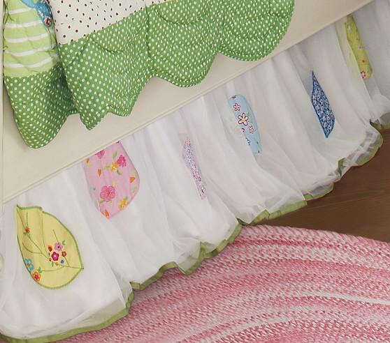 Brooke Crib Skirt