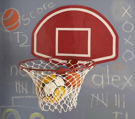 Citaten Hoop Jumbo : Jumbo basketball hoop wall decal pottery barn kids