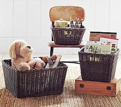 Playroom Storage Baskets Pottery Barn Kids