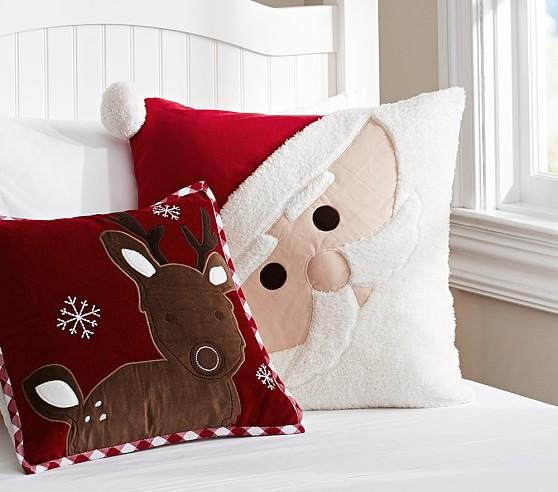 Christmas Decorative Pillows Pottery Barn Kids