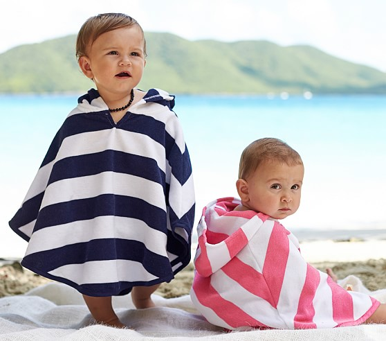 Rugby Stripe Baby Cover Up Pottery Barn Kids