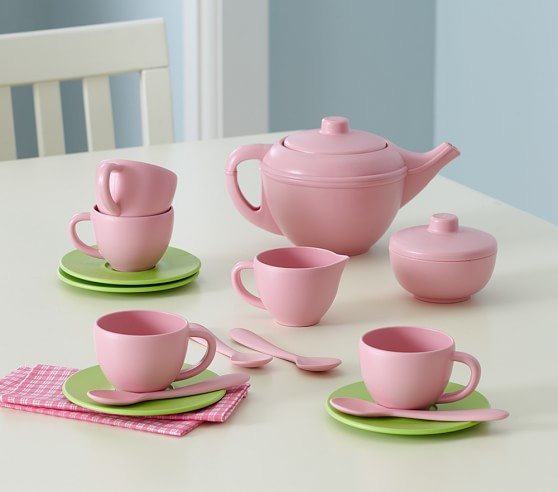 Toy Tea Set : Green toys™ tea set pottery barn kids