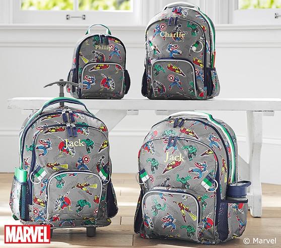 Marvel Gray Backpacks Pottery Barn Kids