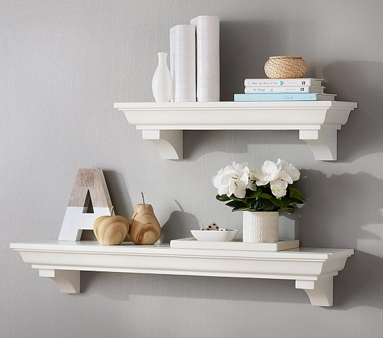 Classic shelving pottery barn kids for White bookcase for kids room