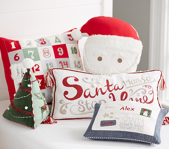Holiday Decorative Pillows Pottery Barn Kids