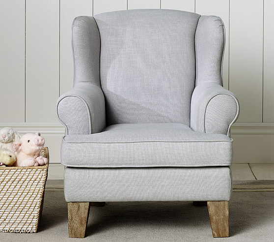 Wingback mini chair pottery barn kids for Toddler mini chair