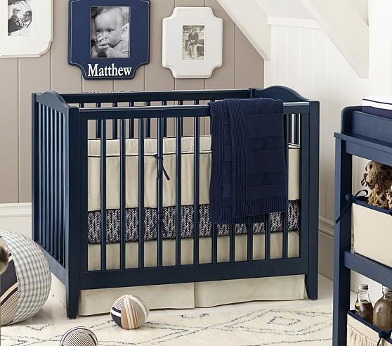 Emerson Mini Crib & Mattress Set
