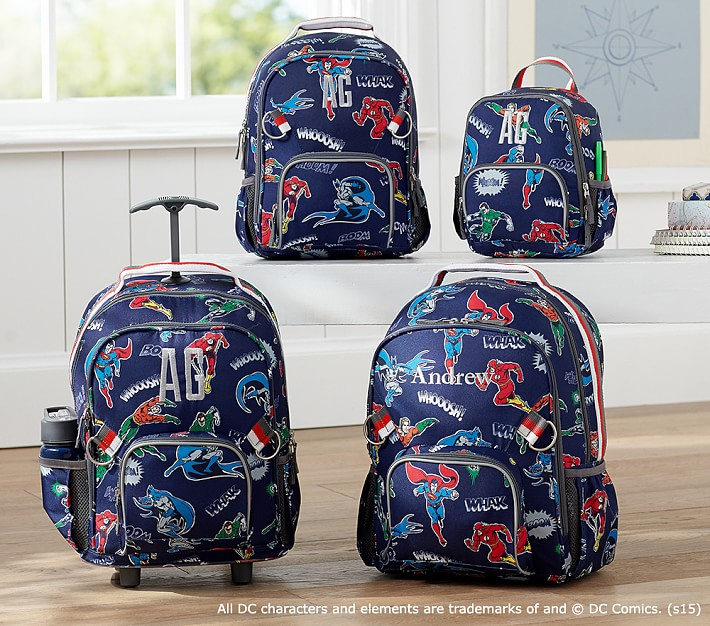 Nwt Pottery Barn Kids Justice League Mini Pre K Backpack