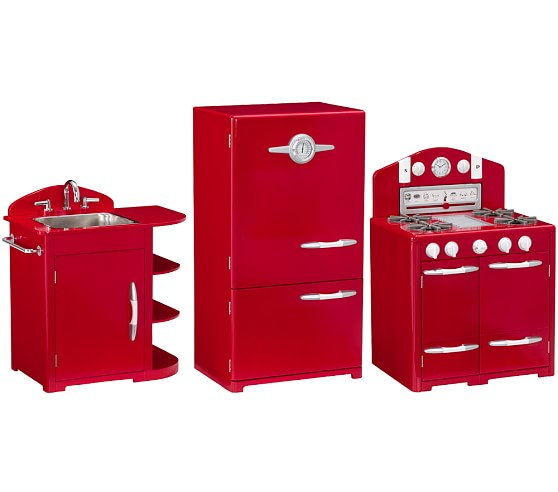 Pottery Barn Retro Kitchen Set