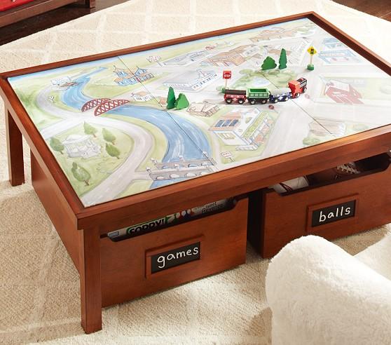 reversible train mat pottery barn kids. Black Bedroom Furniture Sets. Home Design Ideas