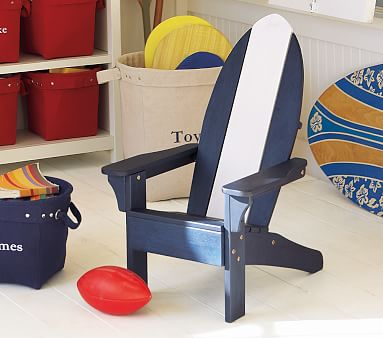 surf adirondack chair cover pottery barn kids. Black Bedroom Furniture Sets. Home Design Ideas