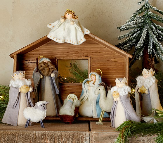 Nativity Scene Pottery Barn Kids