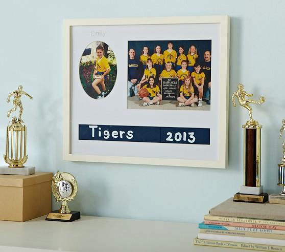 Simply White Sports Team Gallery Frame Pottery Barn Kids