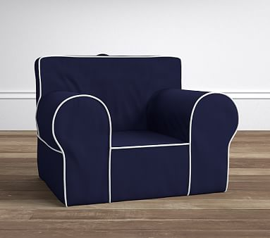 oversized anywhere chair replacement slipcover pottery barn kids. Black Bedroom Furniture Sets. Home Design Ideas