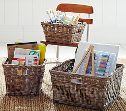 Playroom Storage Baskets Pottery Barn Kids