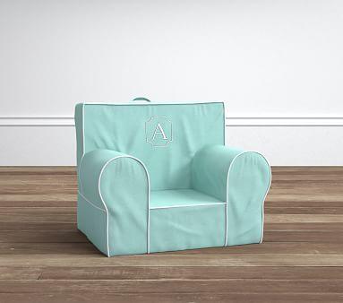 Aqua Harper My First Anywhere Chair 174 Pottery Barn Kids