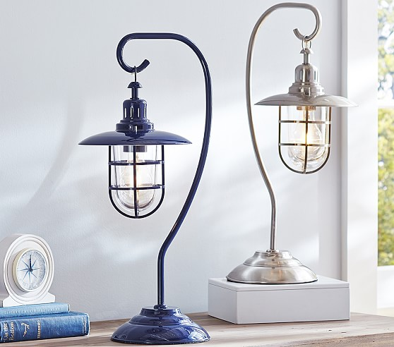fisherman table lamp pottery barn kids. Black Bedroom Furniture Sets. Home Design Ideas