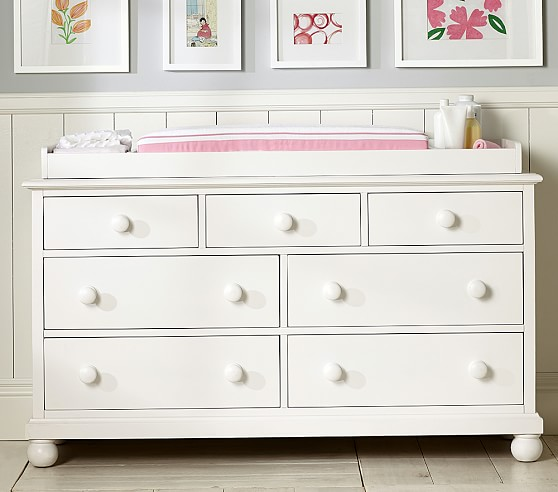 Catalina Extra Wide Dresser Amp Topper Set Pottery Barn Kids