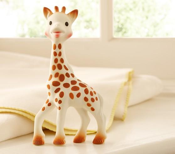 Sophie the giraffe pottery barn kids
