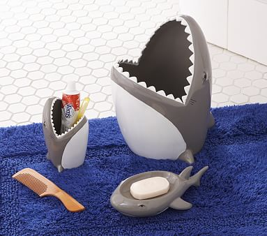 Shark Bathroom Accessories Pottery Barn Kids