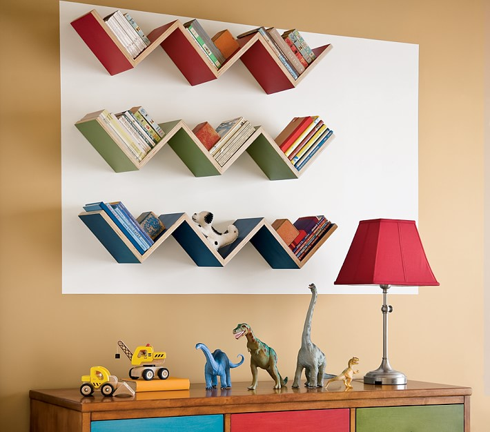 Полочка на стену для книг своими руками