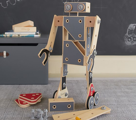 how to build your own robot at home