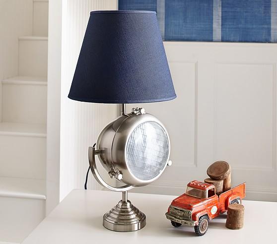 headlight lamp pottery barn kids. Black Bedroom Furniture Sets. Home Design Ideas