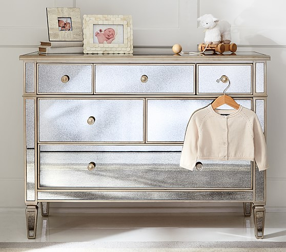 Mirrored Dresser Pottery Barn Kids