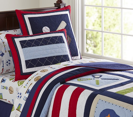jake quilted bedding pottery barn kids ForJake Quilted Bedding