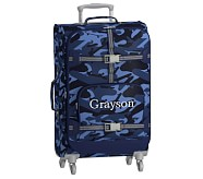 Large Spinner Luggage, Mackenzie Navy Skateboard Camo